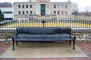 Metal Bench by krissybdesignsstock
