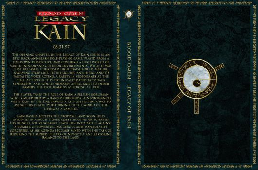 Blood Omen Legacy of Kain Custom Cover by Obscuriel