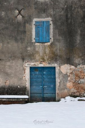 I see a blue door and I want it painted black... by r-maric
