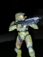 master chief  figure by jakehosmer