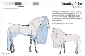 Burning Ashes |Character sheet| by HorRaw-X