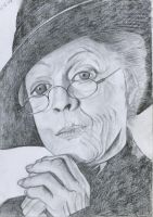Mc Gonagall - Maggie Smith by VivalaVida