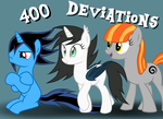 400 Deviations by Toutax