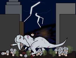 Oct 2011 IA: Sue the Dinosaur by EvilELQ