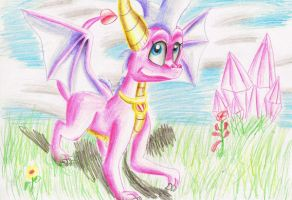 Ember the dragon by IcelectricSpyro