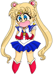 Crybaby Usagi's Magnificent Transformation by Sailor-Serenity