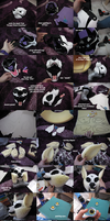 Sly Cooper - cosplay parts by Wazaga