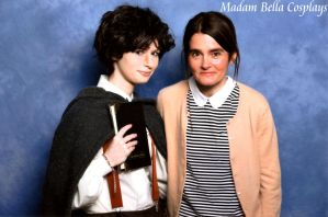 Frodo and Moaning Myrtle (Shirley Henderson) by MasterCyclonis1