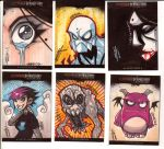 Sketch Cards - CHP by JeremyTreece