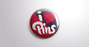 Psd Button Badge Pin Mock-Up by Designslots