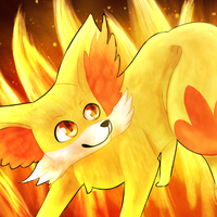 Fennekin - I am the Fire Starter by Elycian