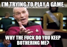 When I'm playing a game. by SuperKirbyFan1234