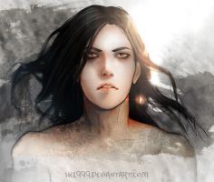 Like Spilled Ink by hel999