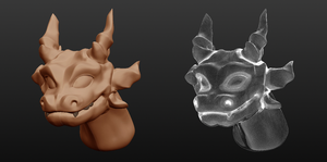 Second attempt at Sculptris by Kidel