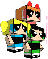 PPG Cubeecrafts by Toon-Orochi