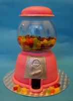 Gumball Machine Cake by sparks1992