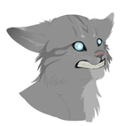 Jayfeather blinking animation by squalled-101