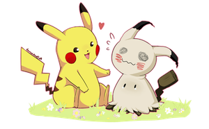 Mimikkyu I choose you by Usamimi-kun