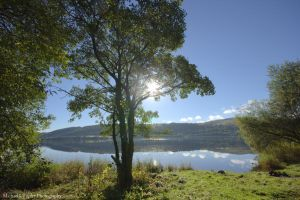 Lake Bala Sunlight by MichaelJTopley