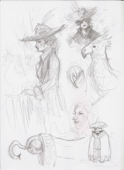 Pirate sketch 2 by Fratos