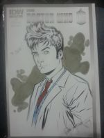 Doctor Who blank cover by elena-casagrande