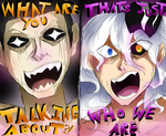 THAT'S JUST WHO WE ARE by HezuNeutral