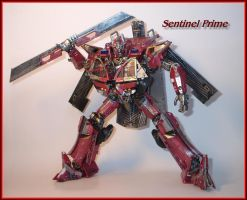 Sentinel Prime Leader Class custom repaint photo 5 by Catskind