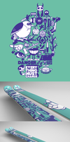 Danger Skis by j3concepts
