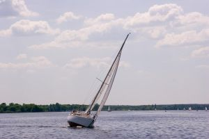 Sailing boat by archaeopteryx-stocks