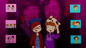 Larry Stylinson wallpaper (1366*768) by Eriikita