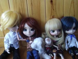 my pullip Family by 0Kurichan0