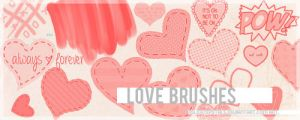 love brushes. by delicatepetals