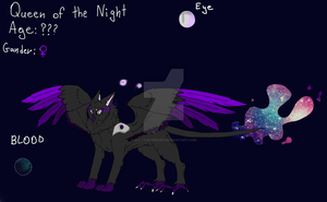 Queen of the Night by SulfasKirigamy