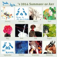 2014SummaryofArt by yuuta-apple
