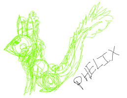 Phelix Sketch by woodsybirds