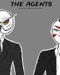The Agents (Vanossgaming and H2O Delirious) by 200shadowfan