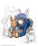 Reisen and Peter Rabbit by fredrin