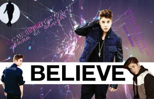 Wallpaper Justin Bieber by DafyPink