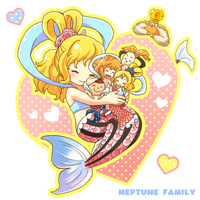 ONEPIECE: Neptune family by inano2009