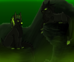 Toxic atmosphere -Point Commission- by ShadowFrozenPaw