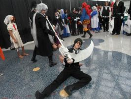 AX 2013 Undertaker and Sebastian by KathytheGoth