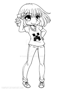 Linearts For Coloring By Yampuff On Deviantart