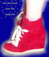Clara Oswin Oswald Cosplay Shoes by GlitterBombCosplay