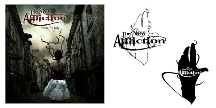 The New Affliction album cover by Metalevon