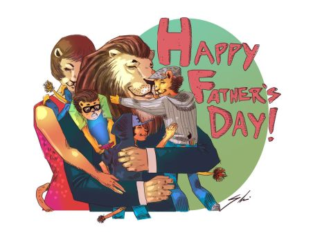 Father's Day by SHOMARI-IRAMOHS