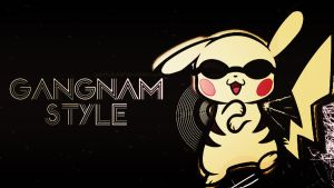 Gangnam  Style-Pikachu  Wallpaper by JoDirectioner