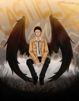 Castiel by spider999now