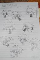 teh many face of Roxas page 2 by shadowflamerofdoom