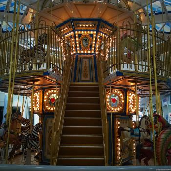 Mall Carousel by CarolinesEcho