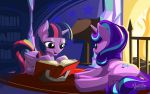 Twilight and Starlight Story Time by mysticalpha